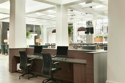 Business Center   Embassy Suites by Hilton Charlotte Ayrsley