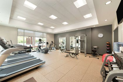 Health club fitness center gym   Embassy Suites by Hilton Charlotte Ayrsley