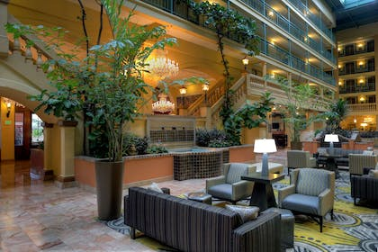 Lobby | Embassy Suites by Hilton Los Angeles International Airport South