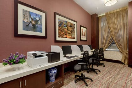 Business Center | DoubleTree by Hilton New York City - Financial District
