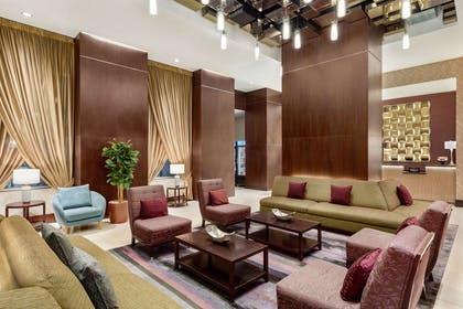 Lobby | DoubleTree by Hilton New York City - Financial District