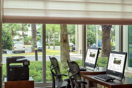 Business Center | Hilton Garden Inn Orlando East/UCF Area