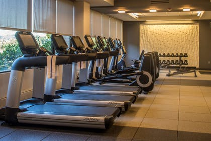Health club fitness center gym | DoubleTree by Hilton Hotel Pittsburgh - Cranberry