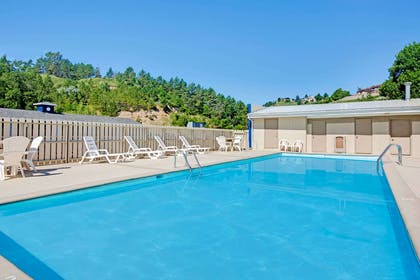 Pool Area | Travelodge by Wyndham Rapid City