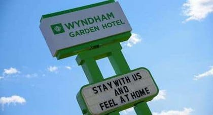 Exterior Sign | Wyndham Garden Fort Wayne