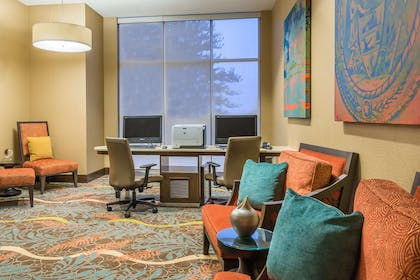 Business Center | Homewood Suites by Hilton Little Rock Downtown