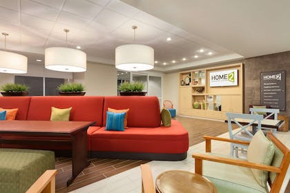 Lobby | Home2 Suites by Hilton Lubbock