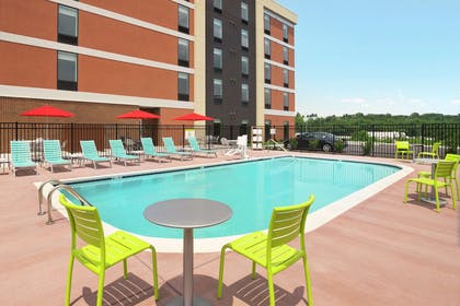 Pool   Home2 Suites by Hilton Knoxville West