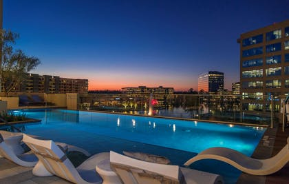 Pool | Embassy Suites by Hilton The Woodlands at Hughes Landing