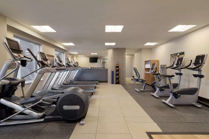 Health club fitness center gym | Embassy Suites by Hilton The Woodlands at Hughes Landing
