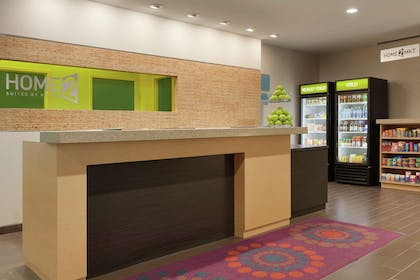 Reception   Home2 Suites by Hilton Oklahoma City South