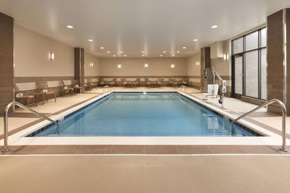 Pool | Embassy Suites by Hilton Akron Canton Airport
