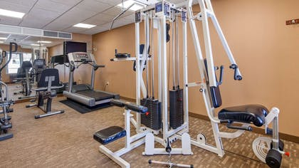 Fitness Center | Best Western Plus Fossil Country Inn & Suites