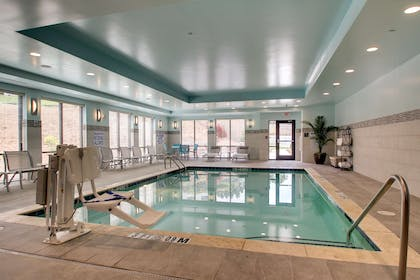 Pool | Hampton Inn & Suites Greenville Airport