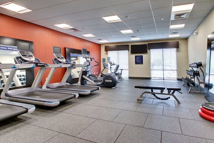 Health club fitness center gym | Hampton Inn & Suites Greenville Airport