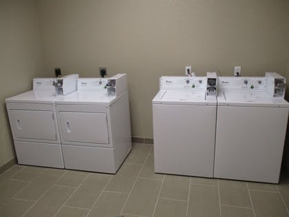 Laundromat | Best Western Plus Galveston Suites