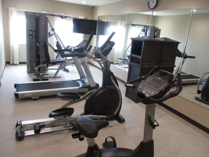 Exercise Room | Best Western Plus Galveston Suites