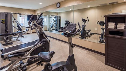 Fitness Center | Best Western Plus Galveston Suites