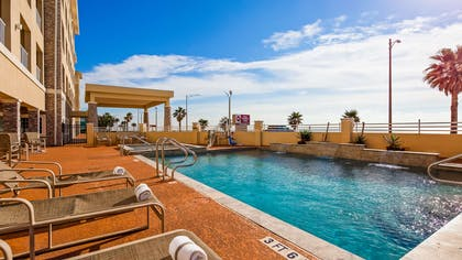 Outdoor Pool | Best Western Plus Galveston Suites