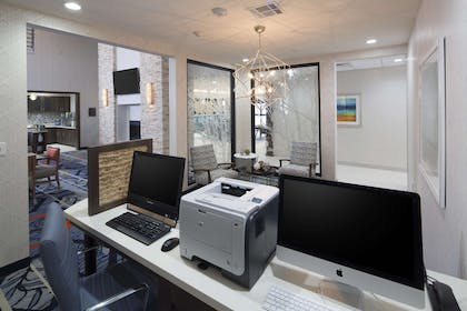 Business Center | Homewood Suites by Hilton Houston / Katy Mills Mall