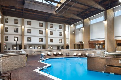 Pool | DoubleTree by Hilton Hotel Lawrence