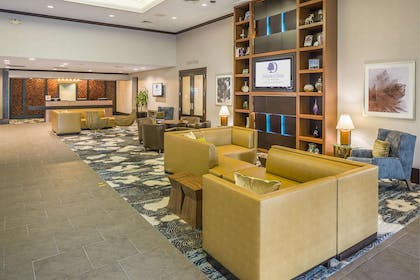 Reception | DoubleTree by Hilton Hotel Boston-Andover