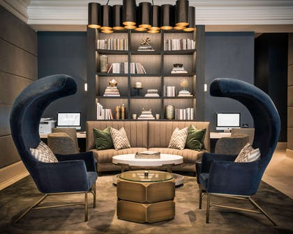 Lobby | LondonHouse Chicago, Curio Collection by Hilton