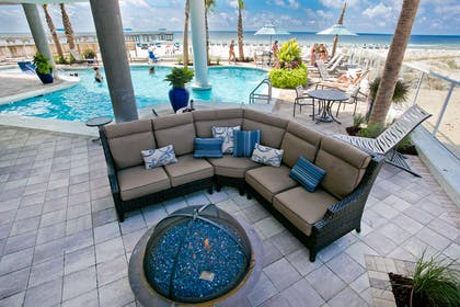Fire Pit and Pool | Best Western Premier The Tides