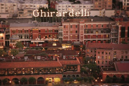 Ghirardelli Square Arial view | Fairmont Heritage Place, Ghirardelli Square