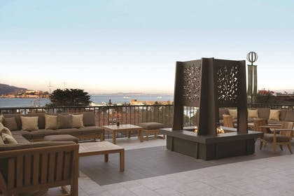 Mustard Terrace and Fire pit | Fairmont Heritage Place, Ghirardelli Square