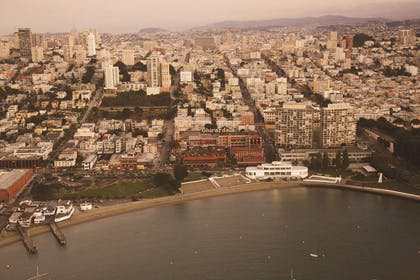 San Francisco City View | Fairmont Heritage Place, Ghirardelli Square