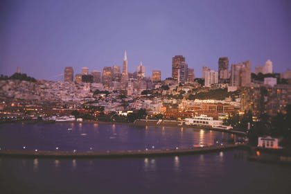 San Francisco Bay and Bay View | Fairmont Heritage Place, Ghirardelli Square