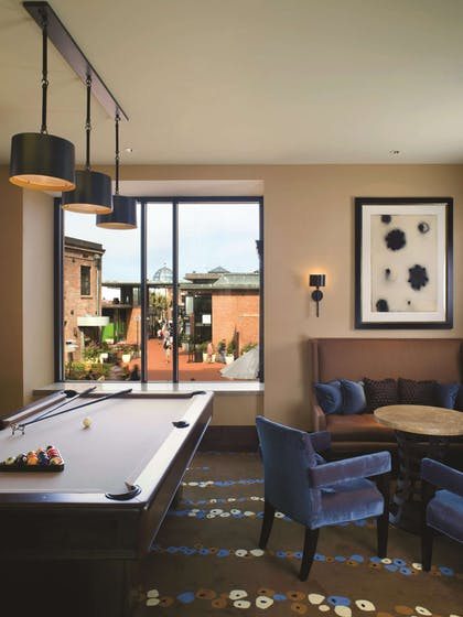 Lounge Billiards Table | Fairmont Heritage Place, Ghirardelli Square
