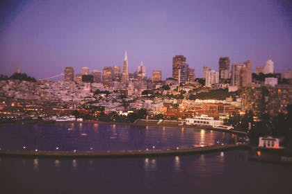 San Francisco Bay and City View | Fairmont Heritage Place, Ghirardelli Square