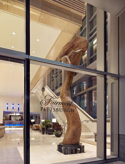 Front Entrance | Fairmont Pittsburgh