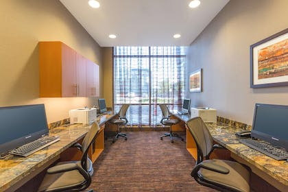 Business Center | Homewood Suites by Hilton Houston Downtown