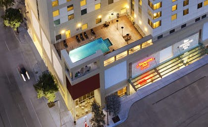 Pool | Homewood Suites by Hilton Houston Downtown