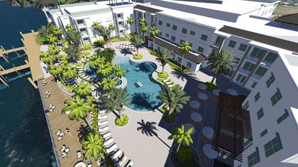 Pool | Hyatt House Naples/5th Avenue