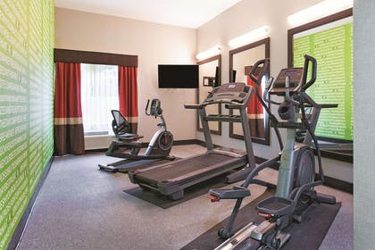 Health club fitness center gym | La Quinta Inn & Suites by Wyndham Tampa Bay Area-Tampa South
