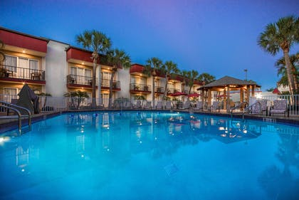 pool view | La Quinta Inn by Wyndham Clearwater Central
