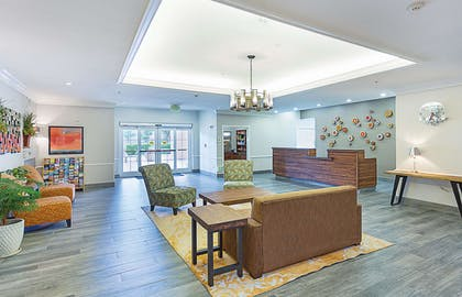 Lobby | La Quinta Inn & Suites by Wyndham Houston West at Clay Road