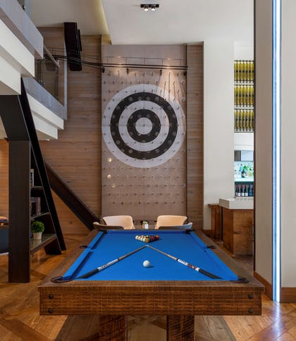 Lobby Pool Table | Hotel Zetta San Francisco