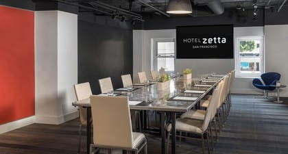 Demo Boardroom | Hotel Zetta San Francisco
