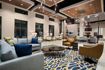 Lobby | Embassy Suites by Hilton McAllen Convention Center