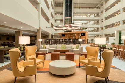 Lobby | Embassy Suites by Hilton Milwaukee Brookfield