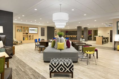 Lobby | Home2 Suites by Hilton Hasbrouck Heights