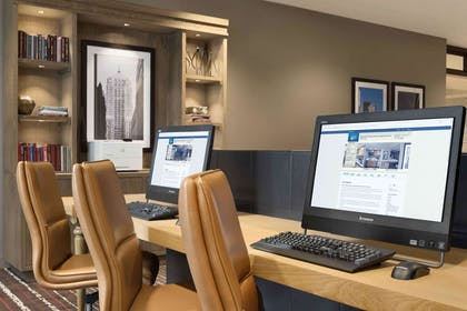 Business Center | Homewood Suites by Hilton Chicago Downtown West Loop