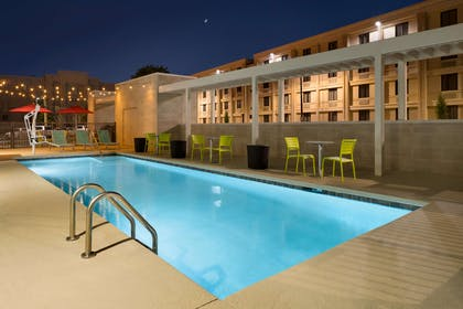 Pool   Home2 Suites by Hilton Charlotte Airport
