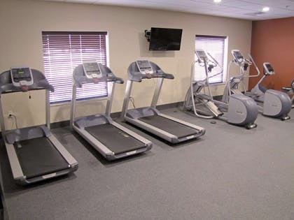 Health club | Hampton Inn McPherson