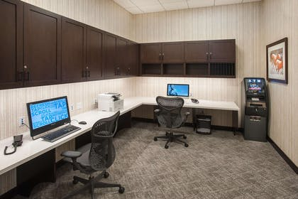 Business Center | Hilton Garden Inn Burbank Downtown
